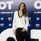 Nuria Fergó en la presentación de 'OT. El reencuentro'