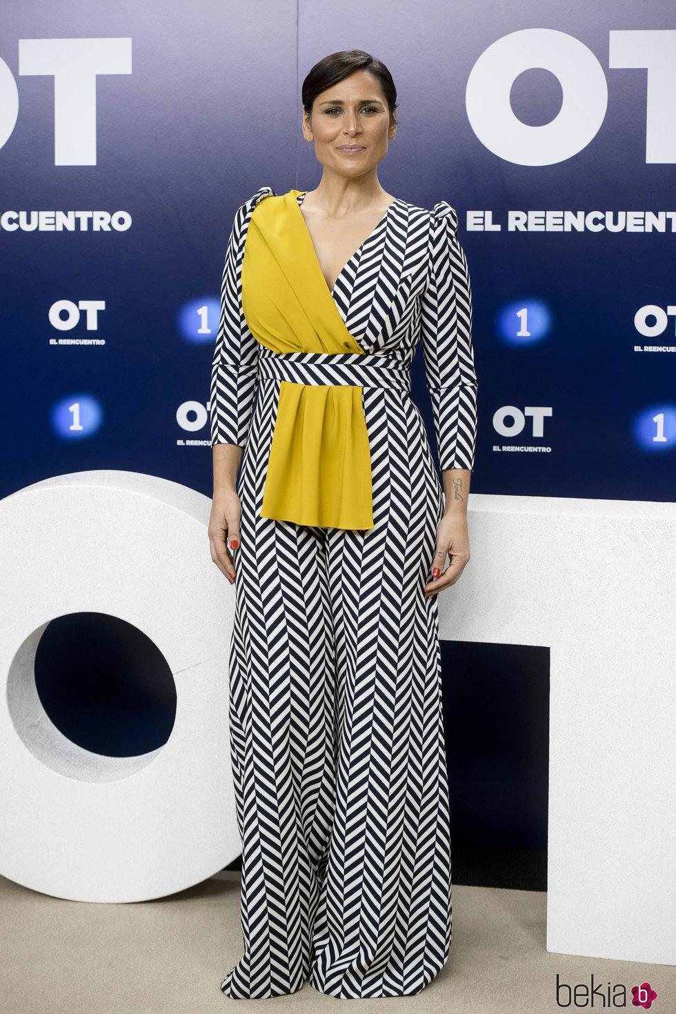 Rosa López en la presentación de 'OT. El reencuentro'