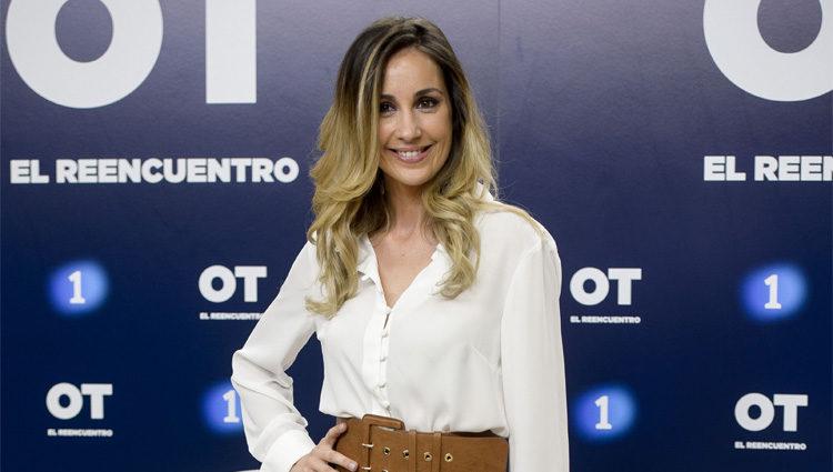 Mireia Montávez en la presentación de 'OT. El reencuentro'