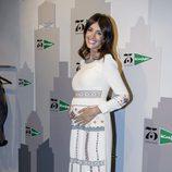 Noelia López luciendo embarazo en la tercera edición de 'The Petite Fashion Week'