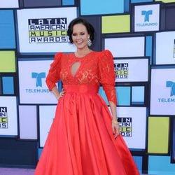 Shaila Dúrcal en la alfombra roja de los Latin American Music Awards 2016