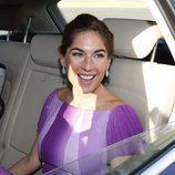 Lourdes Montes llegando a la boda de Kiko Rivera e Irene Rosales