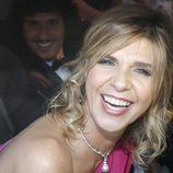 Arancha de Benito y Agustín Etienne llegando a la boda de Kiko Rivera e Irene Rosales