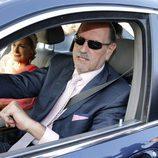 Diego Gómez llegando a la boda de Kiko Rivera e Irene Rosales