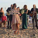 Anna, la hija de Paz Padilla, le dedica unas palabras a los recién casados