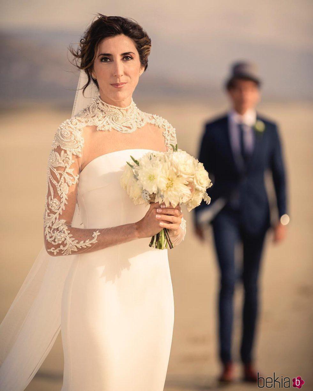 Paz Padilla en su boda