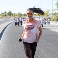 Pilar Rubio participando en la carrera 'The color run by Skittles'