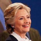 Hillary Clinton en el segundo debate presidencial