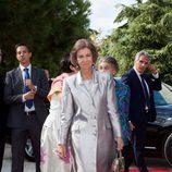 La Reina Sofía en la boda de Leka de Albania y Elia Zaharia