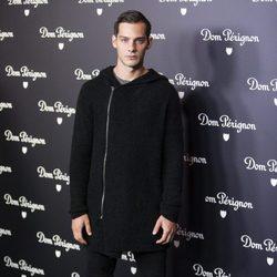 Joel Bosqued en una fiesta de Dom Pérignon en Madrid