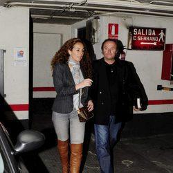 Rocío Carrasco y su tío Amador Mohedano