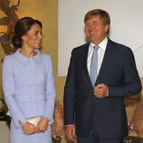 Kate Middleton y Guillermo Alejandro de Holanda en La Haya