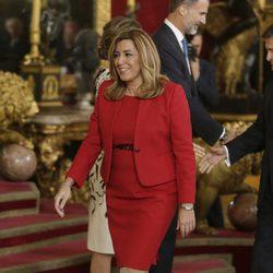 Susana Díaz en la recepción del Día de la Hispanidad 2016