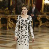 La Reina Letizia en la recepción del Día de la Hispanidad 2016