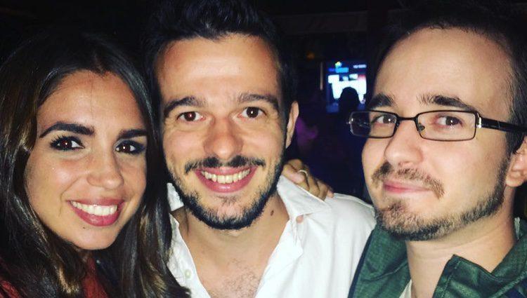 Fernando Tielve, Elena Furiase y Daniel Retuerta