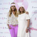 Marta Sánchez y Terelu Campos en la presentación de la campaña contra el cáncer de mama 2016