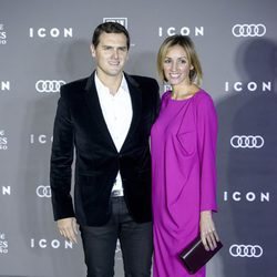Albert Rivera y Beatriz Tajuelo en los Premios Icon 2016