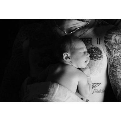 Adam Levine junto a su pequeña