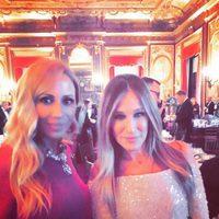 Marta Sánchez y Sarah Jessica Parker en Nueva York