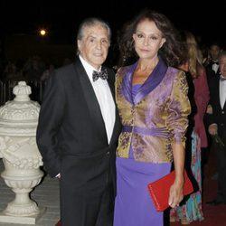 Jaime Ostos y María Ángeles Grajal durante la X Edición de los Premios Escaparate en Sevilla.