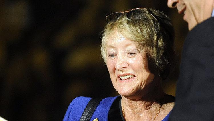 Yvonne Blake en la entrega de Premios de Cine en 2012