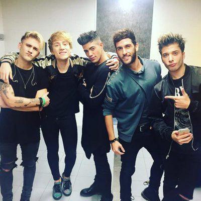 El grupo Auryn en su concierto de despedida en el Coca Cola Music Experience 2016
