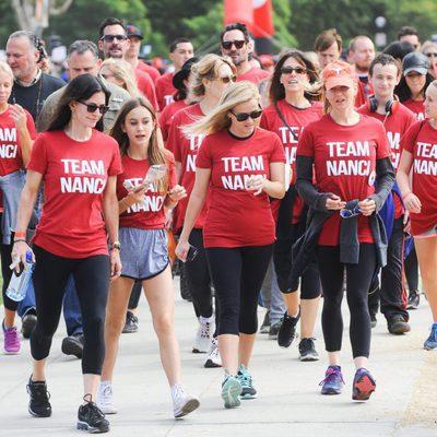 Renée Zellweger,  Reese Witherspoon y Courteney Cox en una carrera solidaria en Los Ángeles