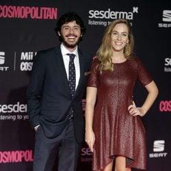 Javier Pereira y Marta Abril Morata en los Premios Cosmopolitan Fun Fearless Female 2016
