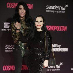Alaska y Mario Vaquerizo en los Premios Cosmopolitan Fun Fearless Female 2016