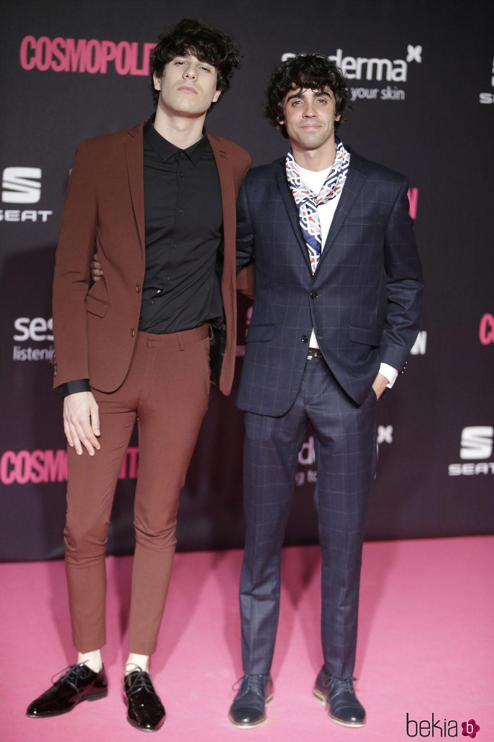 Javier Calvo y Javier Ambrossi en los Premios Cosmopolitan Fun Fearless Female 2016