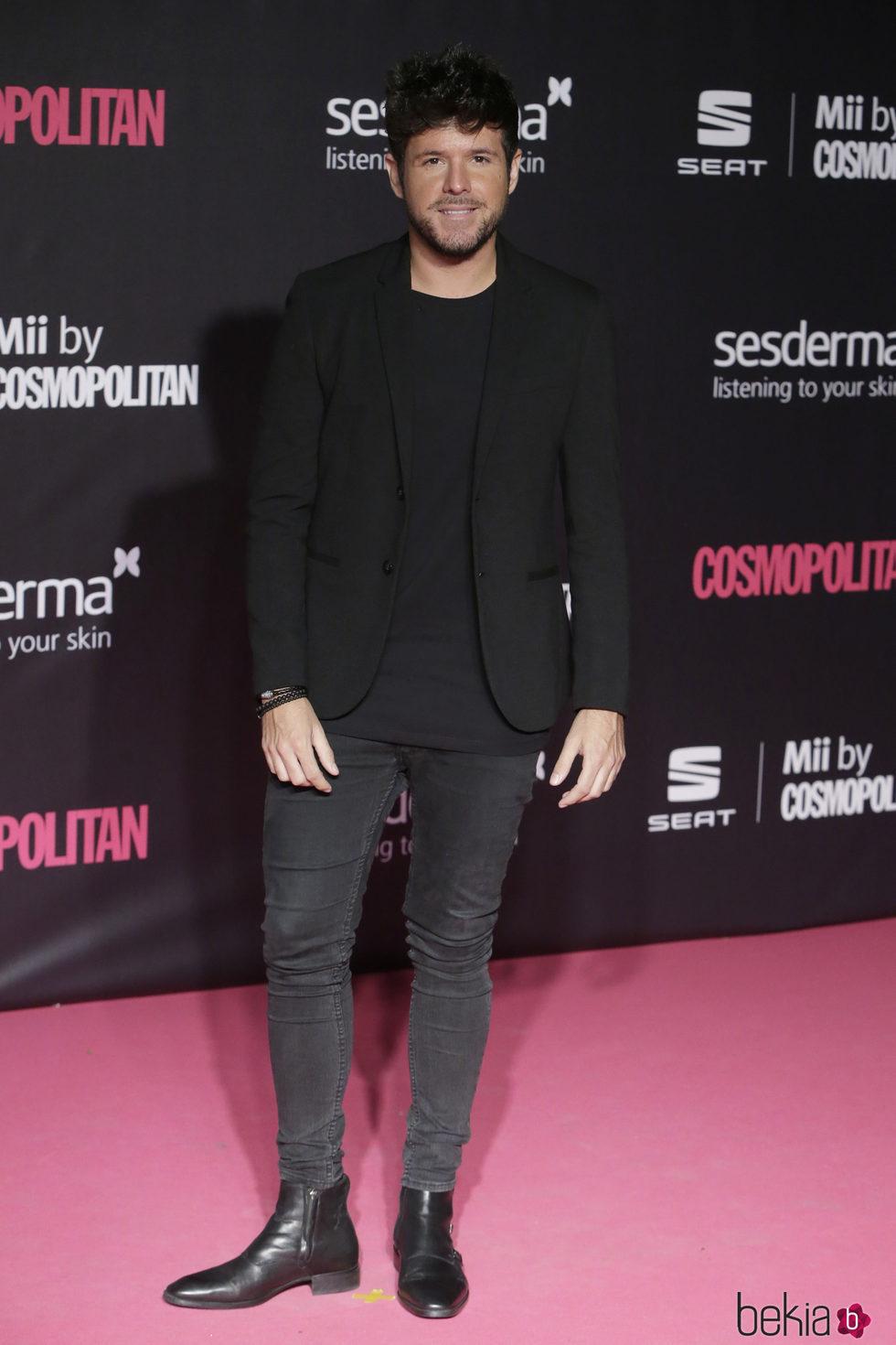Pablo López en los Premios Cosmopolitan Fun Fearless Female 2016