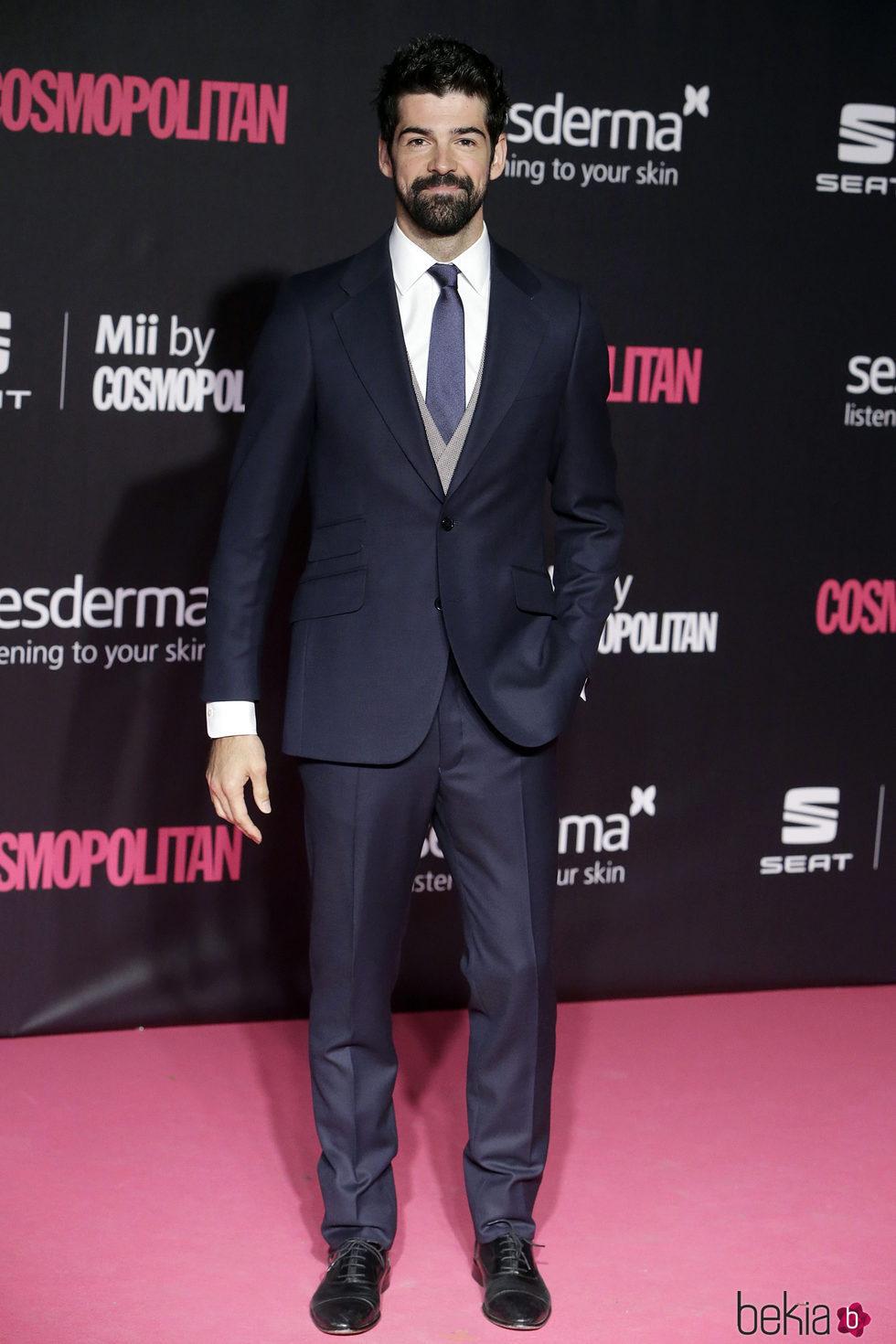 Miguel Ángel Muñoz en los Premios Cosmopolitan Fun Fearless Female 2016