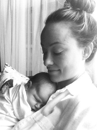 Olivia Wilde y su hija Daisy Josephine