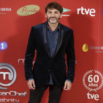 Fernando Tejero en la presentación de 'Masterchef Celebrity'