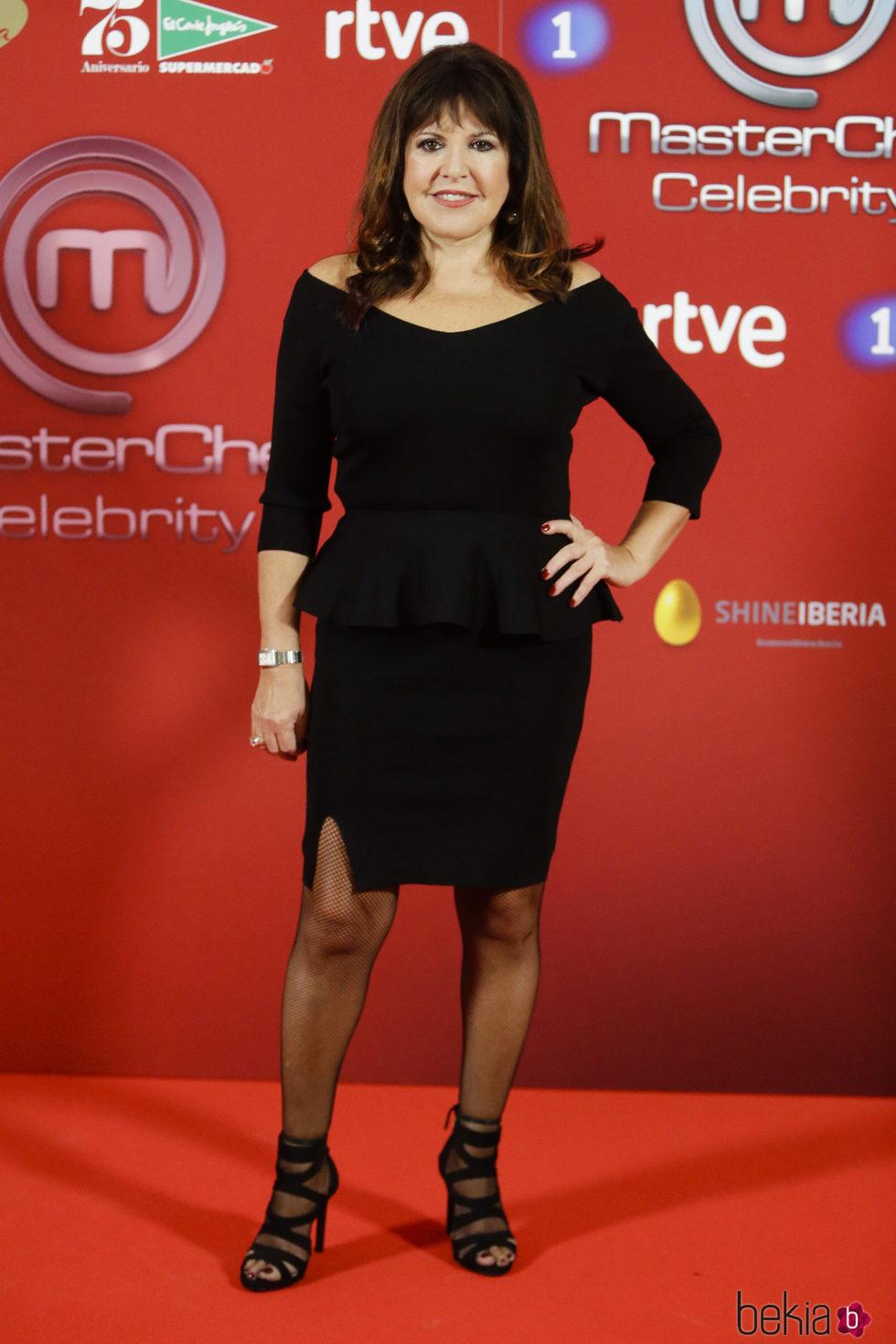 Loles León en la presentación de 'Masterchef Celebrity'
