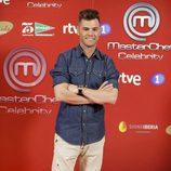 Fonsi Nieto en la presentación de 'Masterchef Celebrity'