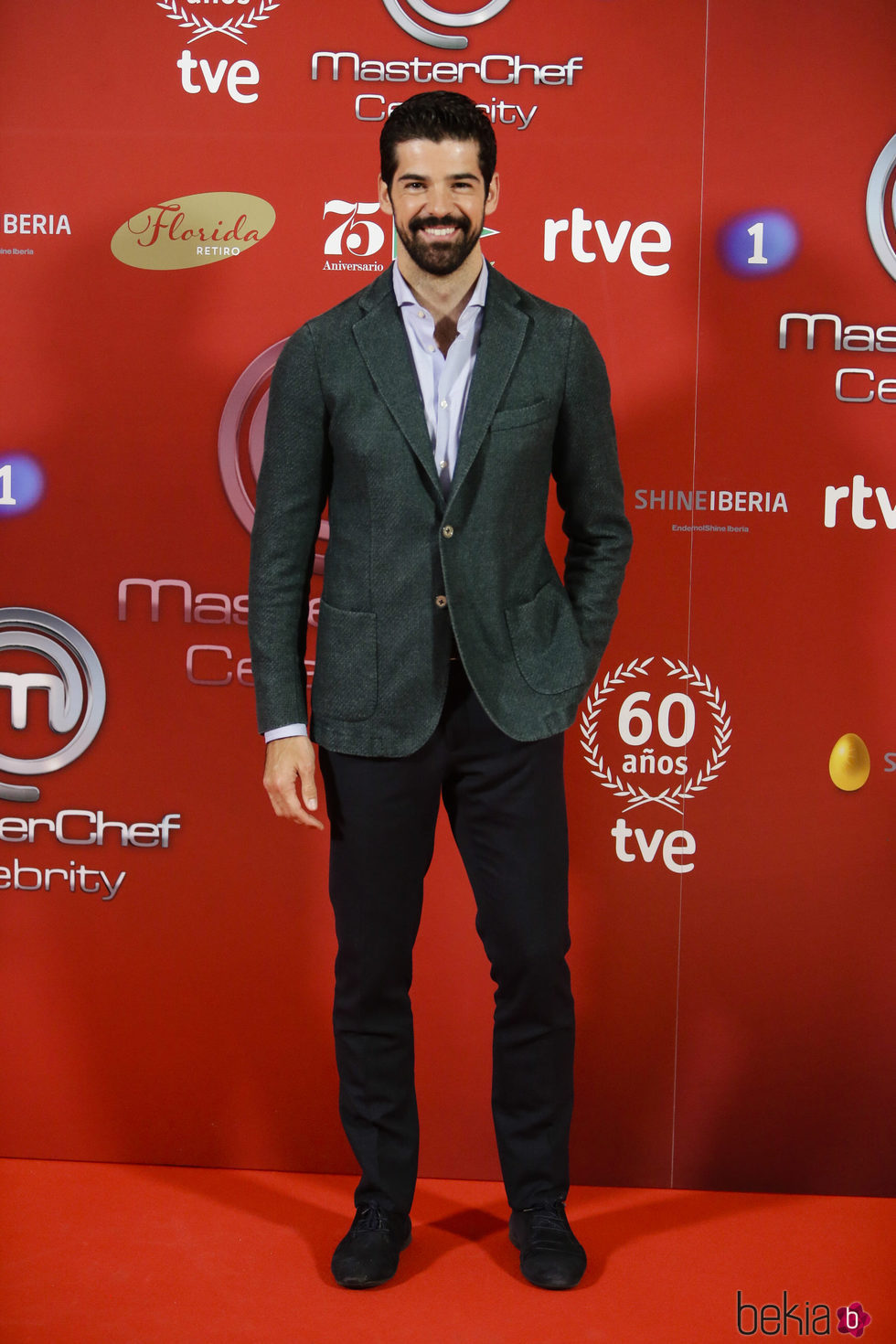 Miguel Ángel Muñoz en la presentación de 'Masterchef Celebrity'