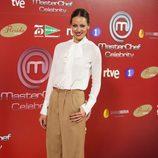 Eva González en la presentación de 'Masterchef Celebrity'