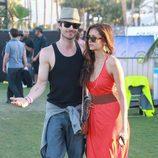 Ian Somerhalder y Nina Dobrev, dos enamorados en Coachella