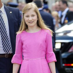Isabel de Bélgica en el Día Nacional de Bélgica 2015