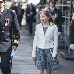 Isabel de Bélgica en un acto oficial como heredera en 2015