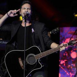 David de María durante el concierto 'Por ellas' de Cadena 100