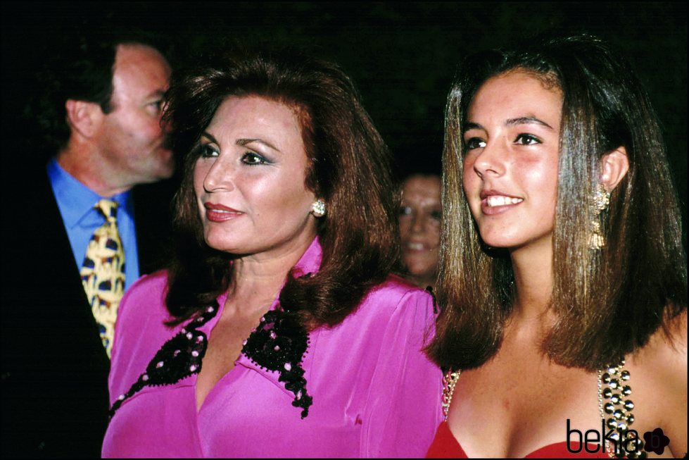 Rocío Jurado junto a su hija Rocío Carrasco