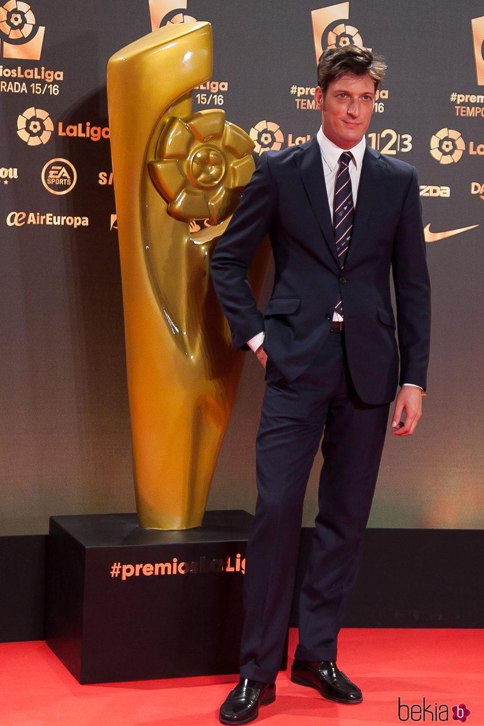 Luis Medina en los Premios La Liga 2016 en Valencia
