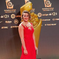 Mireia Belmonte en los Premios La Liga 2016 en Valencia