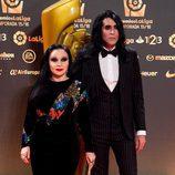 Alaska y Mario Vaquerizo en los Premios La Liga 2016 en Valencia