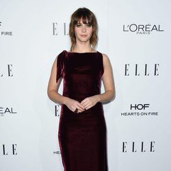 Felicity Jones en la entrega de los Premios Women in Hollywood 2016 de la revista Elle