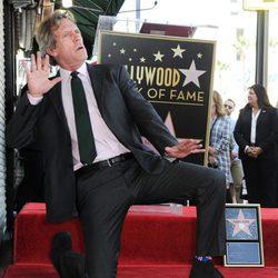 Hugh Laurie ya disfruta de su estrella en el Paseo de la Fama