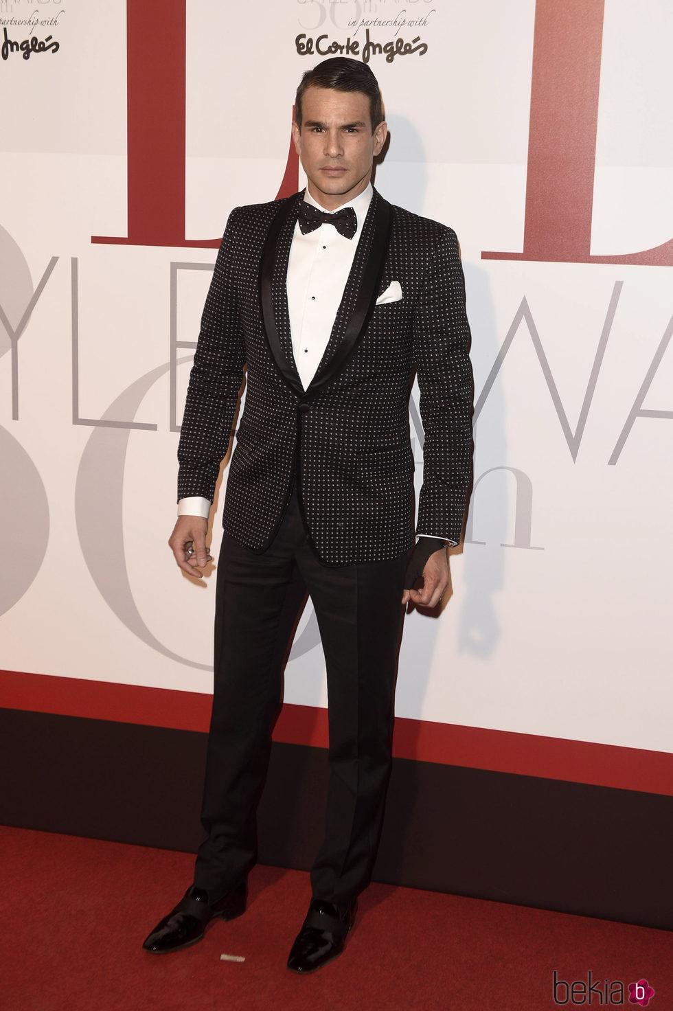 José María Manzanares en los Elle Style Awards 2016