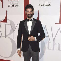 Miguel Ángel Muñoz en los Elle Style Awards 2016